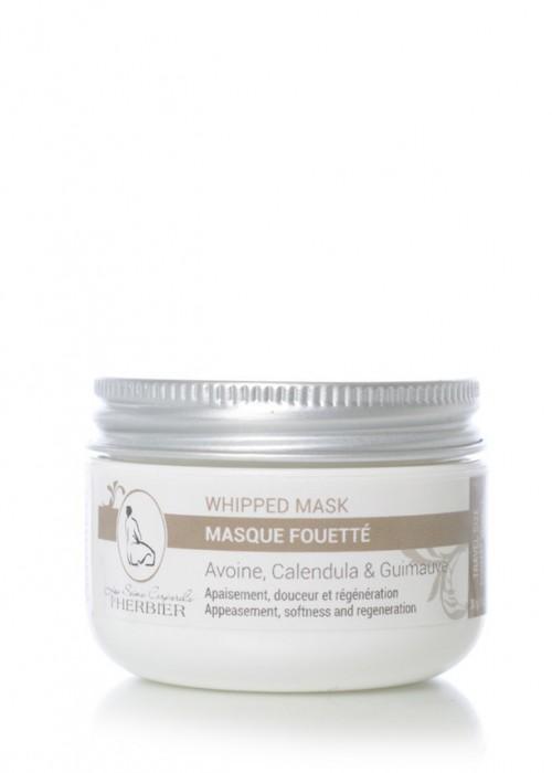 Masque Fouetté - Avoine, Calendula et Guimauve 30g