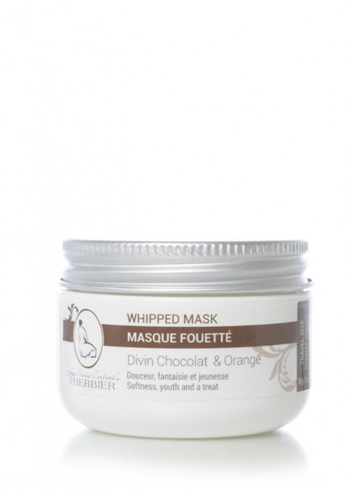 Masque Fouetté - Chocolat et Orange 30g