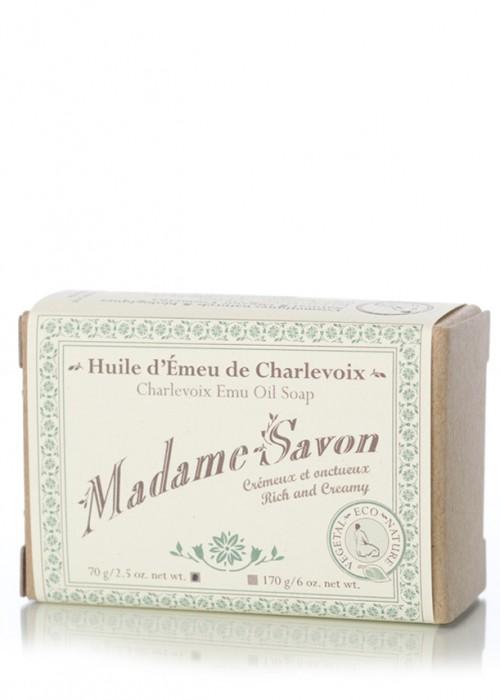 Madame Savon |  Émeu de Charlevoix