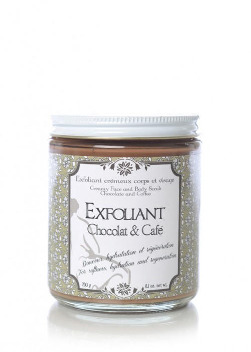 Body and Face Exfoliant Scrub - Chocolate & Coffee