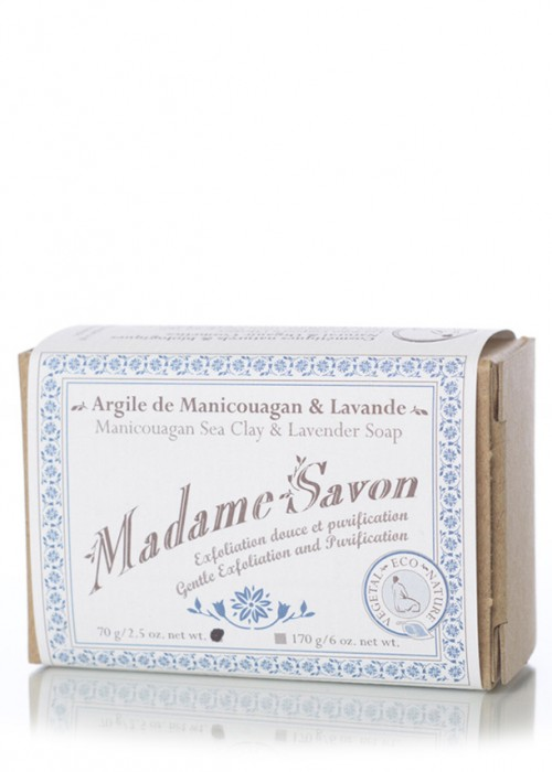 Madame Savon | Argile de Manicouagan et Lavande
