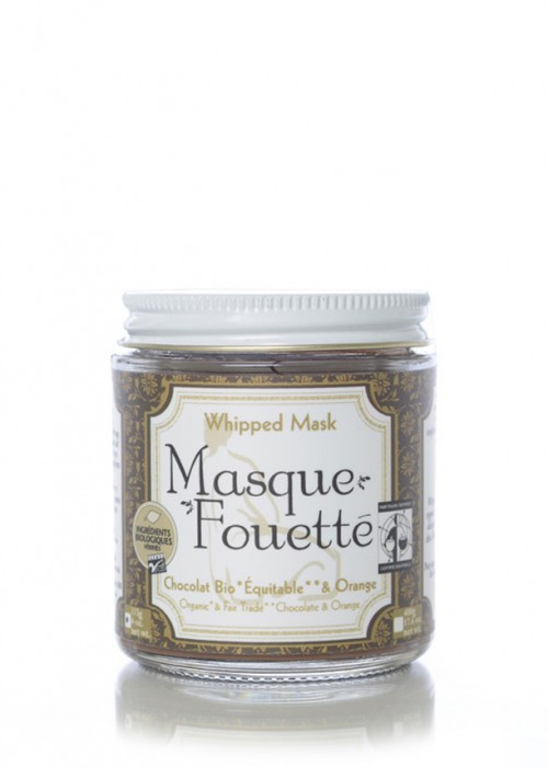 Masque Fouetté - Chocolat et Orange
