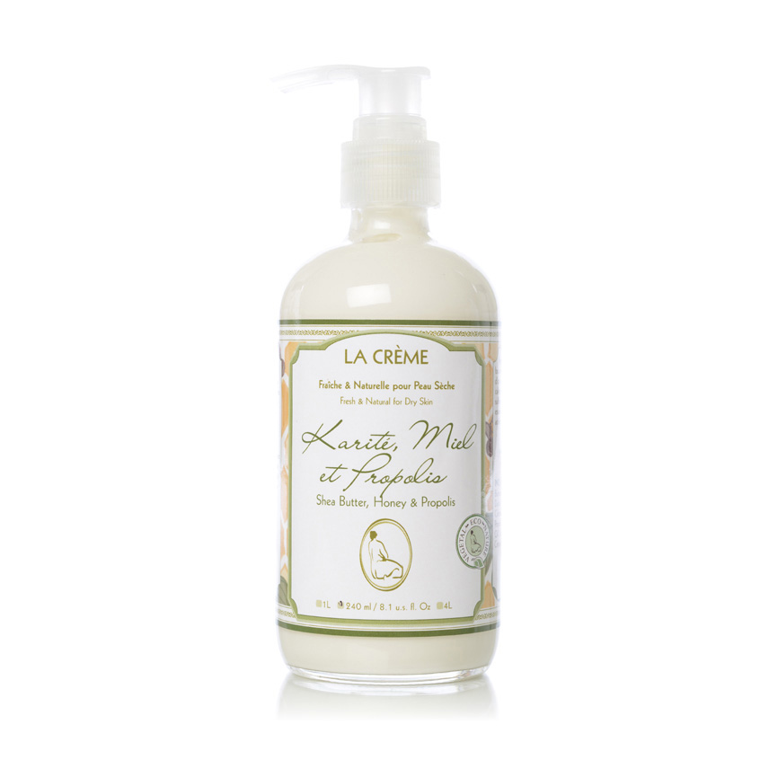 Shea Butter, Honey and Propolis Body Lotion - La Crème - L'Herbier Body Care