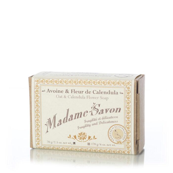 Madame Savon – Avoine et Fleur de Calendula