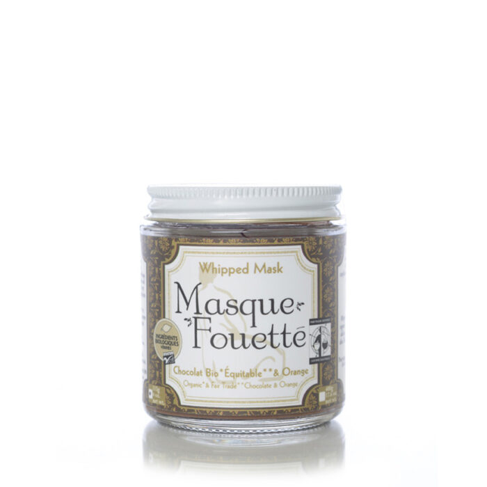 Masque Fouetté – Chocolat Bio et Orange