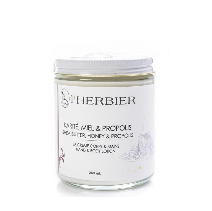 La Crème – Karité, Miel et Propolis